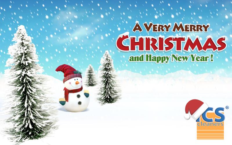 Ics Cleaners Wenst U Een Zalige Kerst En Een Gelukkig Nieuwjaar
