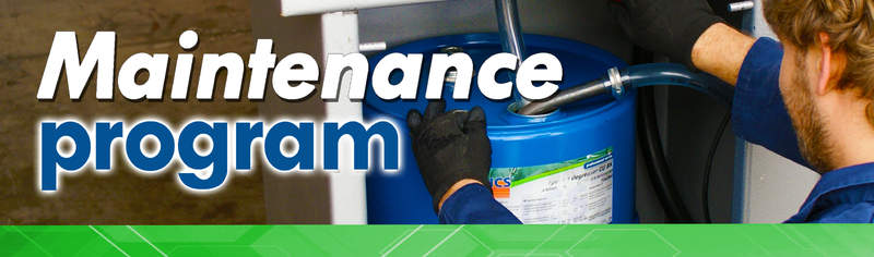 Onderhoudsprogramma | ICS Cleaners