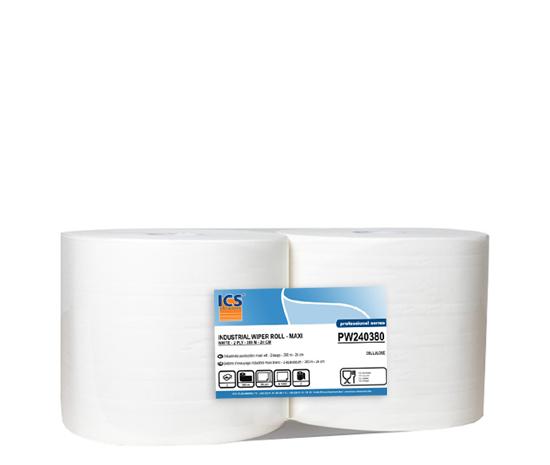 bobine d 39 essuyage industriel maxi blanc 2 paisseurs 380 m est de la meilleure qualit chez. Black Bedroom Furniture Sets. Home Design Ideas