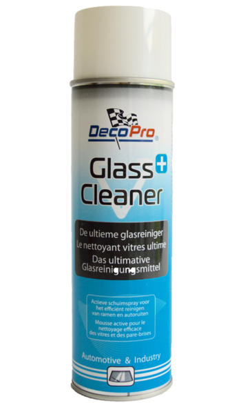 Glass cleaner +