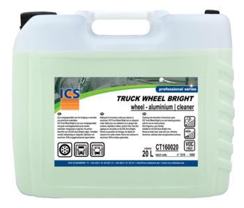 Truck wheel bright