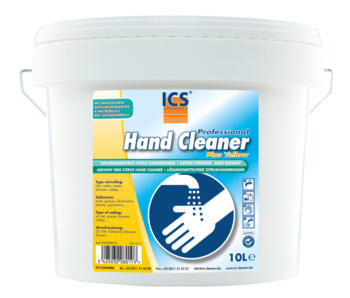 Hand cleaner plus yellow