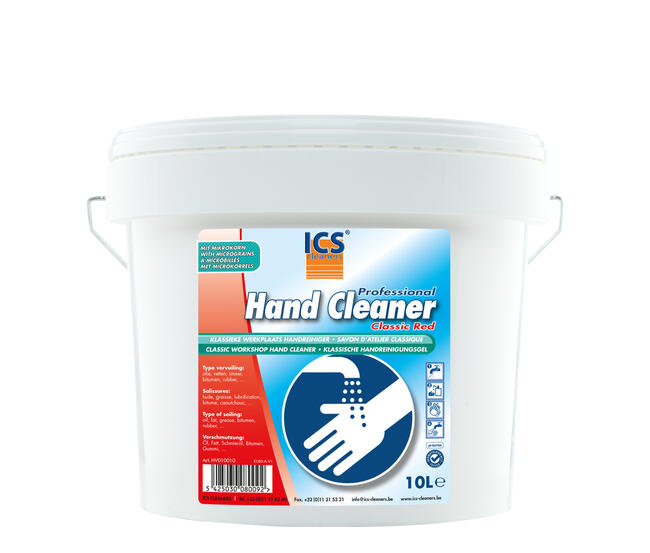 Hand cleaner classic red