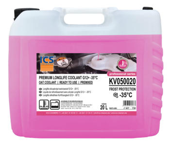 Koelvloeistof premium longlife -38°C G12+ premixed